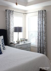 How To Hang Curtains With Window Close Wall | Curtain ...