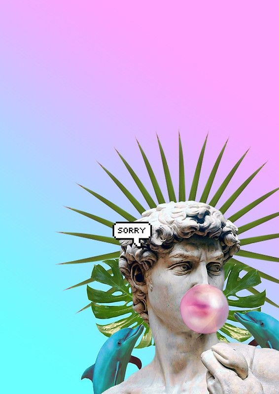 Sad In Love Girl Wallpaper Vaporwave Seapunk Cool Style 3d Poster Best 3d Poster