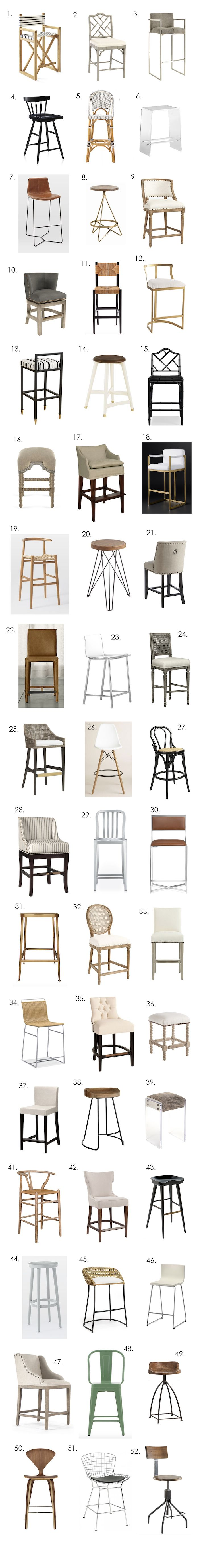 counter stools countertop stools kitchen Giant Counter Stool Roundup