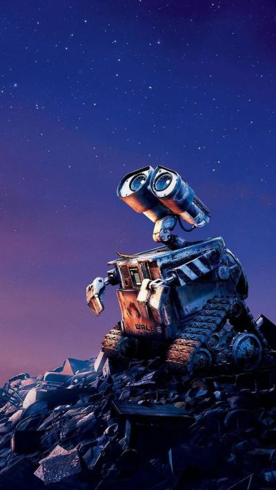 Tap image for more iPhone Disney wallpaper! Wall E Disney want go home - @mobile9 | Wallpapers ...