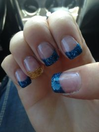 San Diego Chargers...GO BOLTS! | Nail Art/Ideas ...