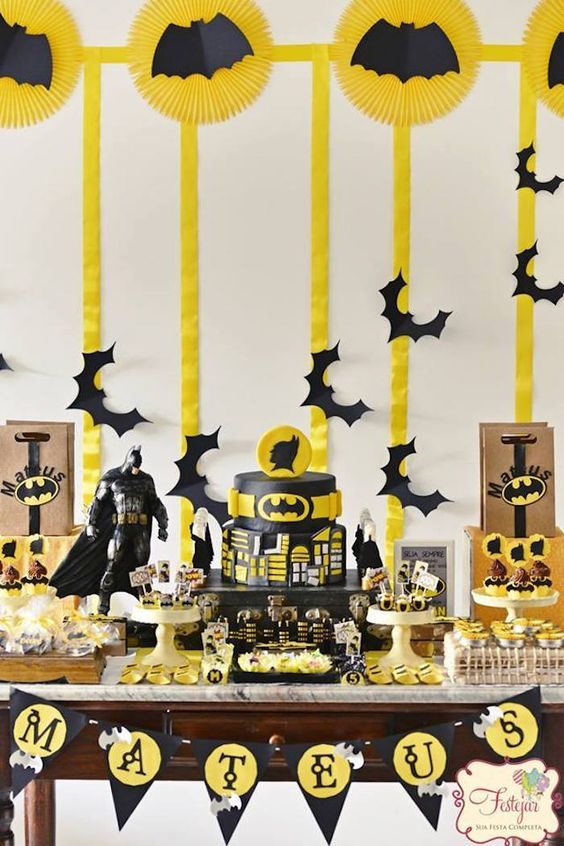 77 Best Images About Batman Party On Pinterest Themed