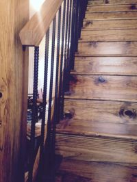 Best 25+ Rustic stairs ideas on Pinterest   Industrial ...