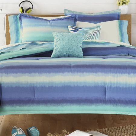 Teen Vogue Electric Beach Blue Comforter Set at Joss and