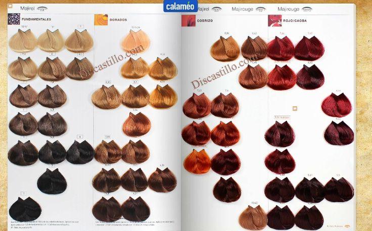 loreal majirel color chart