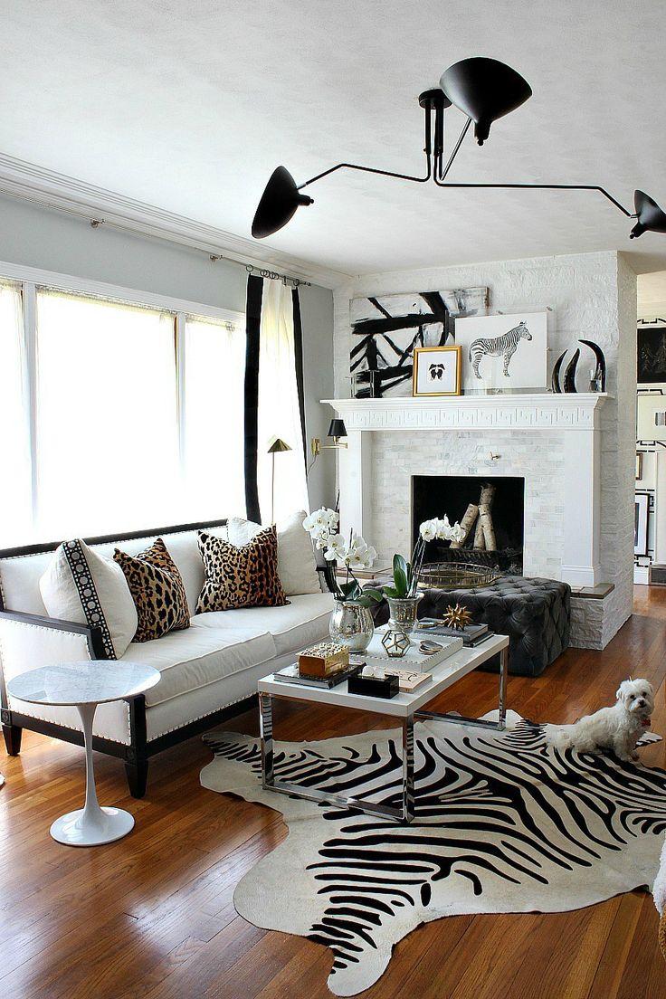 25+ best ideas about Zebra Living Room on Pinterest