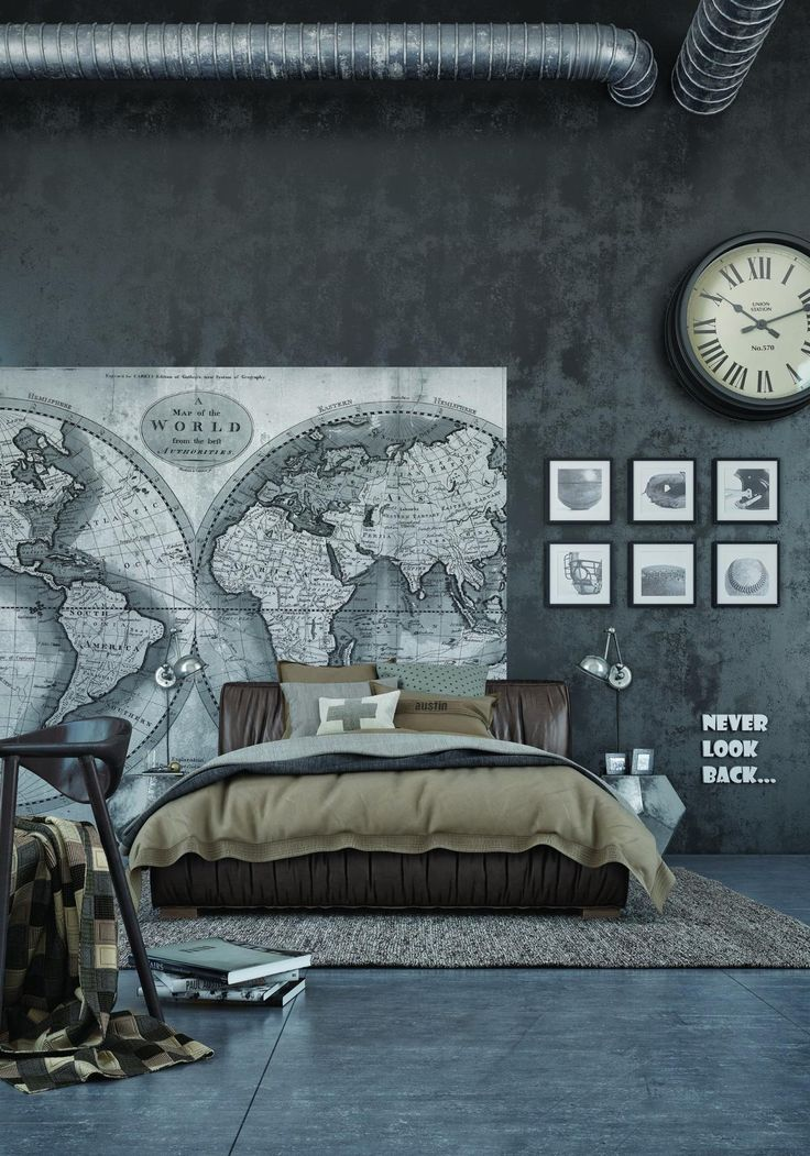 25+ best ideas about Industrial bedroom design on