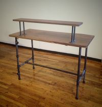 17 Best images about Desk on Pinterest   Industrial, Small ...