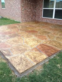 29 best images about Stained Concrete Patios on Pinterest ...