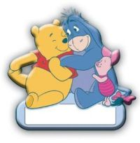 Disney Winnie the Pooh Eeyore Piglet Door Name Plate 1pc ...