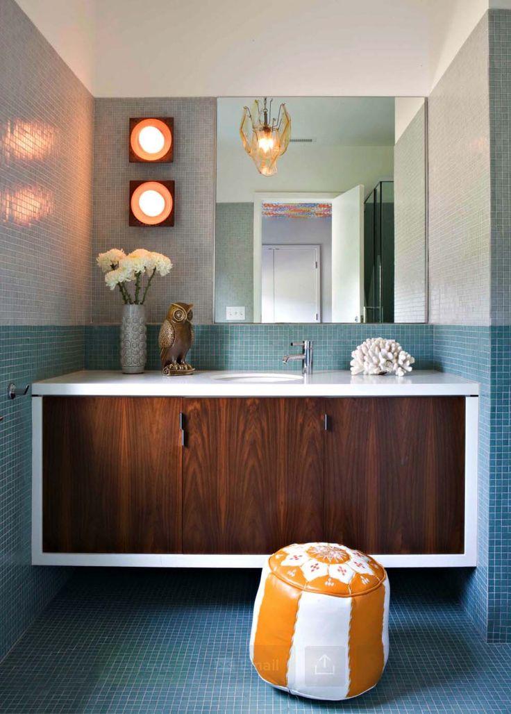 1000+ Ideas About Mid Century Bathroom On Pinterest | Mid Century