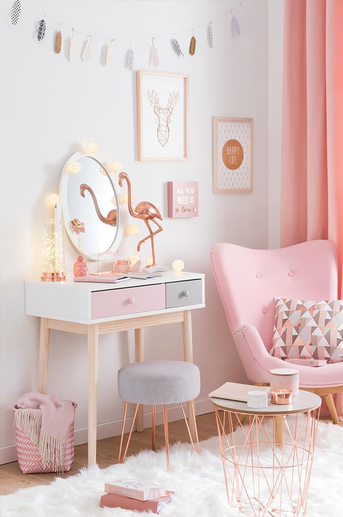 78+ Ideas About Pink Room On Pinterest | Pink Bedroom Decor, Pink