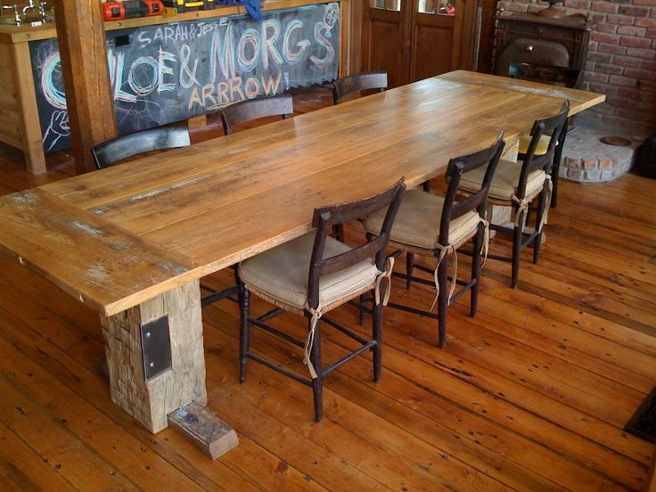 37 best images about thinking about farm tables for the