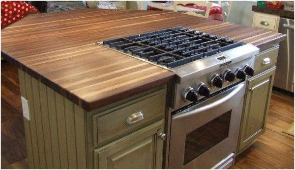 Kitchen Island With Cooktop For Sale Will Butcher Block Work On The Island With A Cooktop And A