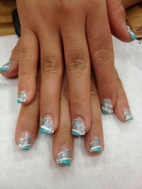 6206 best images about Funky French Tip Nails on Pinterest