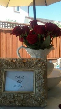 19 best images about Beauty and the Beast Bridal Shower on ...