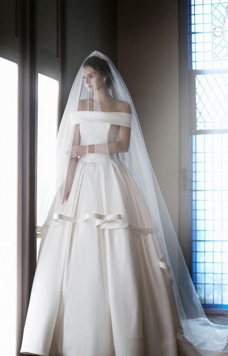 classic wedding dress classic wedding dress COM Royal Mikado silk wedding dress Bodice with