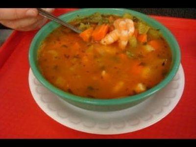 Shrimp and Fish Soup - Caldo de Pescado y Camaron (Mex Style) | Mexican Food | Pinterest ...