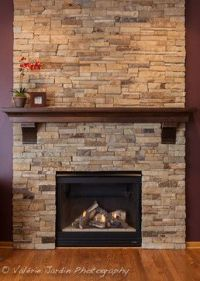 Fireplace Mantel with Corbels With Custom Crown made of ...