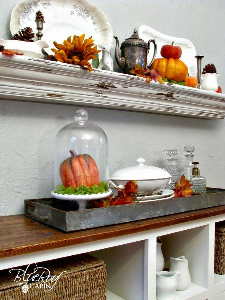 1000 Images About Fall Decor On Pinterest Shelves