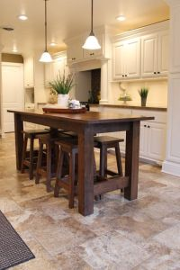 25+ Best Ideas about Island Table on Pinterest