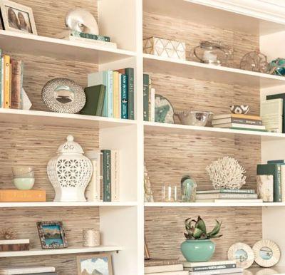 25+ Best Ideas about Wallpaper Shelves on Pinterest   Diy bedroom decor, Desk ideas diy bedrooms ...