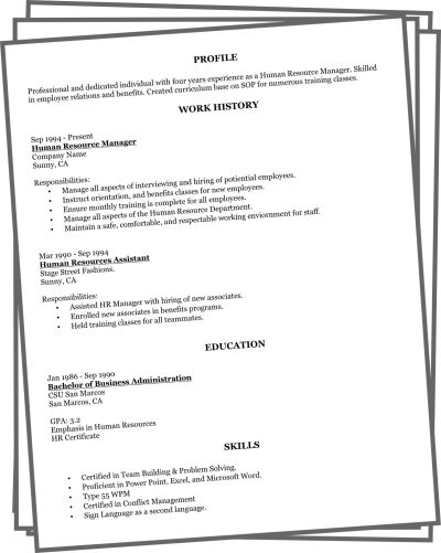 1000+ Ideas About Resume Builder Template On Pinterest | Resume