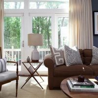 Chocolate brown sofa | Living Room | Pinterest | Grey ...