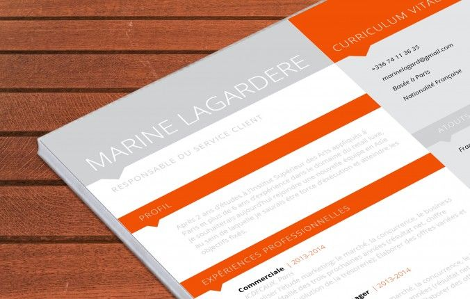 lettre de motivation cv psd freepik