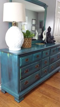 25+ best ideas about Teal dresser on Pinterest | Teal ...