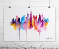 Chicago City Art Print