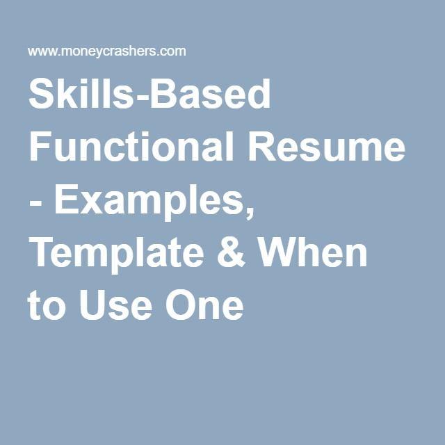 functional resume headings