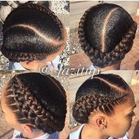 25+ best ideas about Black braided hairstyles on Pinterest ...