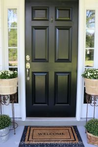 Best 20+ Painting Front Doors ideas on Pinterest