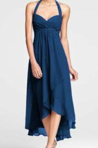 David's bridal marine blue dress that I purchased for my ...