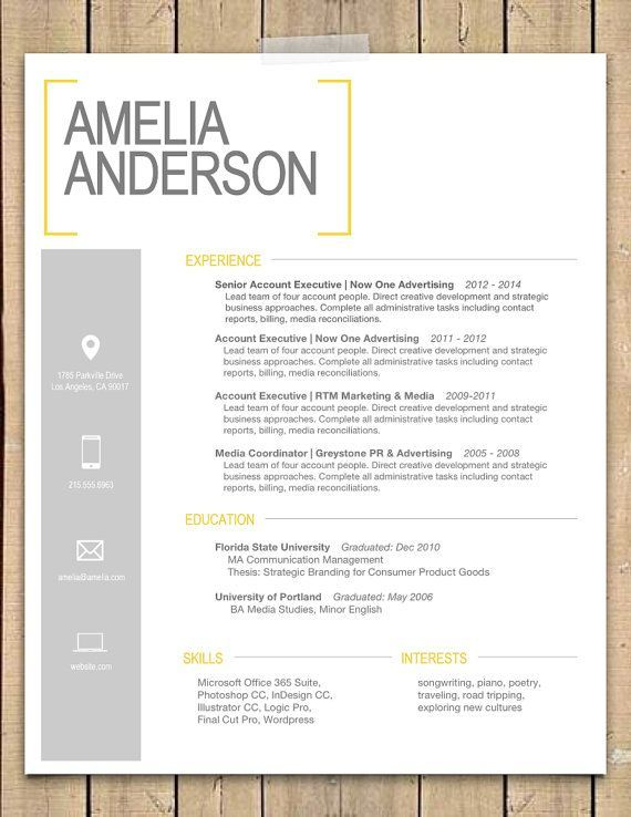 Resume Template Free Online Pdf And Word Doc Cv Builder Best 25 Resume Cover Letters Ideas On Pinterest