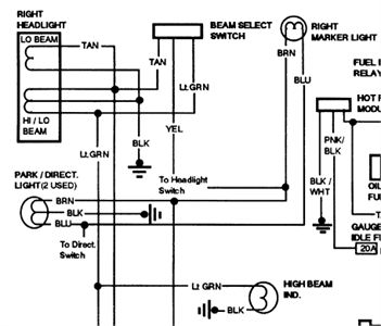 1991 gmc k1500 wiring diagram