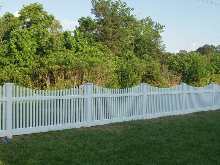 10+ Ideas About Vinyl Fence Cost On Pinterest   Backyard Fences