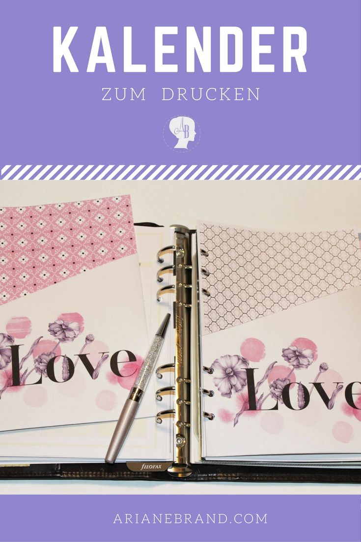 Filofax Personal Einlagen Diy: Kalender 2017 Zum Drucken | Filofax, Diy And Crafts