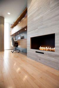 25+ best ideas about Modern Stone Fireplace on Pinterest ...