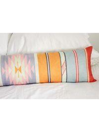 Adana Extra Long Pillow, Sherbert | Stripes & Pattern ...