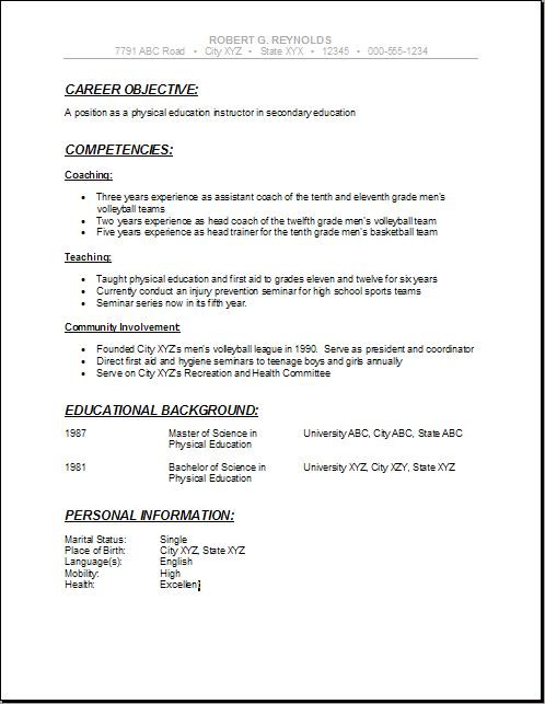How To Address An Incomplete Degree On A Resume Key 59 Best Images About High School Resumes On Pinterest