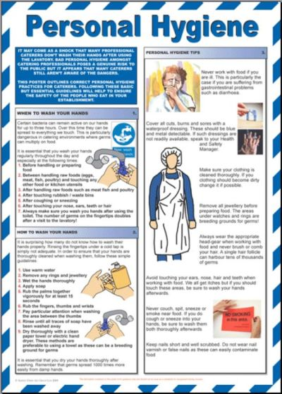 personal hygiene in the kitchen - Google Search | HYGIENE | Pinterest | Personal hygiene