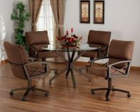 Kitchen Table Swivel Chairs - Image to u