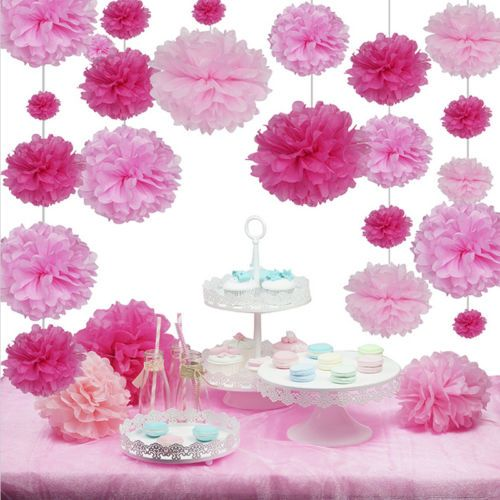 paper mache flower balls