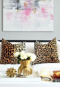17 Best ideas about Leopard Pillow on Pinterest   Living ...