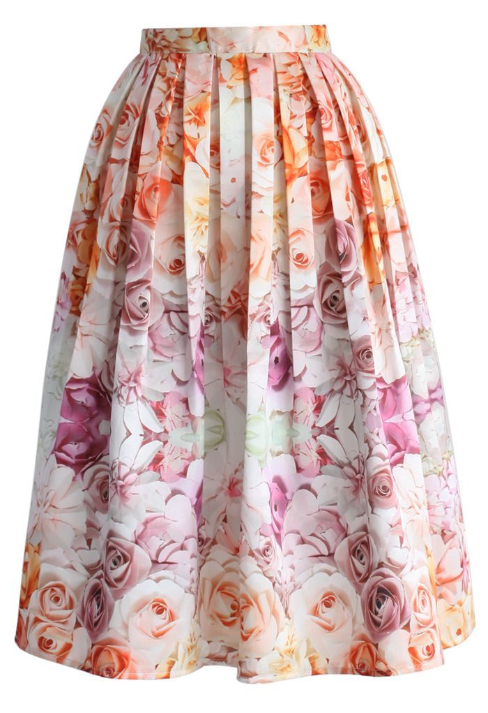 1000 Ideas About Floral Print Skirt On Pinterest