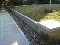 25+ best ideas about Concrete retaining walls on Pinterest