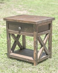 25+ best ideas about Rustic Nightstand on Pinterest ...