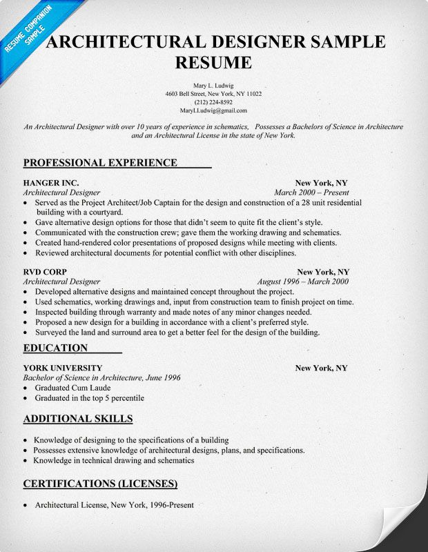 Best Resume Format Architects 30 Best Free Resume Templates For Architects Arch2o Architectural Designer Resume Sample Architecture